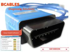 BMW DIAGNOSTIC SOFTWARE CABLE EDIABAS INPA DIS SSS OBD LEAD V44 V54 V57