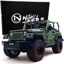 Nifeliz Off-Road Pickup Wrange MOC Technique Building Blocks and Engineering Toy