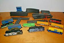 POWER TRAINS Lot Jakks Pacific Engines Cars Track Pieces Toy Trains