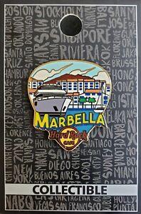 HARD ROCK CAFE MARBELLA GREETINGS PIN **BRAND NEW**