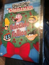 Cartoon Network Christmas - Yuletide Follies - DVD Cult Xmas Animated Sealed NEW