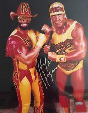Hulk Hogan Autographed 11x14 Wrestling Photo 1 Tristar Hologram