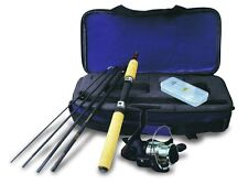 Okuma Voyager Spinning Rod & Reel Travel Kit Hiking Camping Parks Lakes Compact
