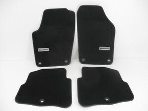 Original Fussmatten VW Polo 9N Black Edition VW Premium Velour Matten *NEU*