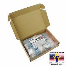 50value 250pcs 3W Metal Film Resistor +/-1% Assortment Kit US Seller KITB0143