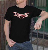 Dismember Logo Men Black T-shirt Death Metal Band Tee Shirt BOLT THROWER