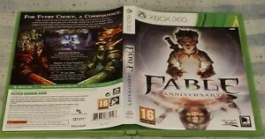 Fable Anniversary Replacement Game Case For Microsoft Xbox 360