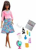 "Mattel Barbie You Can Be Anything Teacher African American Doll GDJ35 ""NEW"""