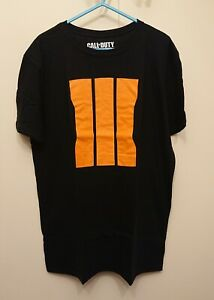 Official Call of Duty Black Ops 3 III promo T-shirts LARGE