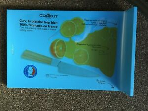 Blue Curv Cookut Chopping board - French - Kitchen - Cooking - Pouring Spout
