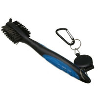 Golf Club Cleaning Brush & Groove Cleaner With Retractable Reel N F6Y5