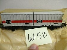 W-5B Marklin HO #4664 Container Car Made in West Germany