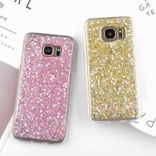 For Samsung Galaxy S9 S8/7 Plus Case Bling Glitter Sparkle Soft Rubber TPU Cover