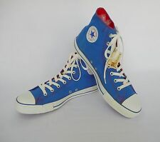 Converse Chuck Taylor All Star Men's Blue/Red High Top Shoes Size 12