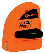 Gallagher G60731 Highly Visible On/Off Cut Out Switch for Fence Maintenance