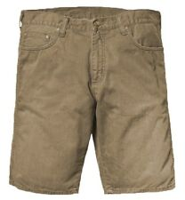 New Carhartt Western Bermuda Alabama Brown Denim Shorts Walkshorts 25W BNWT