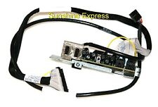 New OEM Dell M884G Front I/O Panel w/ Cables JN454 for Precision T3500 T5500