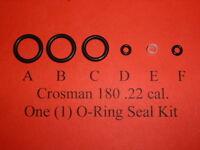 Crosman 180 One (1) Complete O-Ring Seal Reseal Kit  .22 cal.