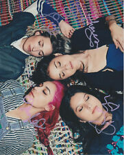 WARPAINT Band Elephants New Song SIGNED 8X10 Photo b