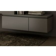 Complemento moderno 100x32x45 cassettiera per mobile Avon bianco grigio rovere|6