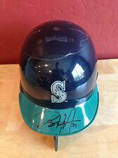 DANNY HULTZEN Autograph Baseball Mini Helmet ~ RIDDELL ~ Seattle ~ Auto
