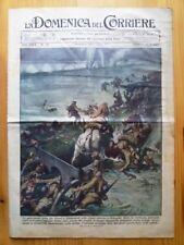 La Domenica del Corriere 7 novembre 1937 Shangai - Roma - Franco Spagna