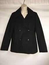 Express Peacoat Black Small Womens Jacket Coat NWT $128