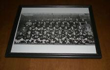 1946 CHICAGO BEARS WORLD CHAMPS FRAMED B&W TEAM PRINT