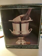 1980 Vintage Trophy Ice Bucket by International Silver Co.-Horse Show Lexington