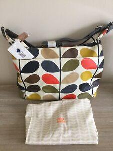 Orla Kiely Classic Multi Stem Sling 1 Baby Bag RRP £85