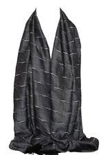Bufandas y pañuelos de mujer estolas negros sin marca