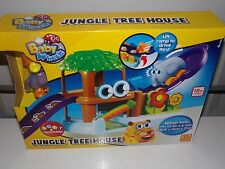NEW Baby Wheels Jungle Tree House 18+ Months Kids Child Toy Soft Squeezable