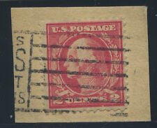 #528A(CF1)  on piece with Contemporary cancel. Very scarce on piece or cover