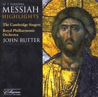 The Cambridge Singers - Handel: Messiah highlights (John Rutter, [CD]