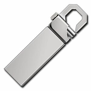 2TB 256GB Metall USB Stick Speicher Stick Daumen U Disk Buttom Wasserdicht