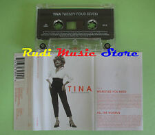 MC TINA TURNER Twenty four seven 1999 eu PARLOPHONE 72435231804 no cd lp dvd vhs