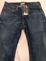 """BNWT Tommy Hilfiger Blue Ronan Regular Comfort Fit Jean. Size 29""""W X 34""""L"""