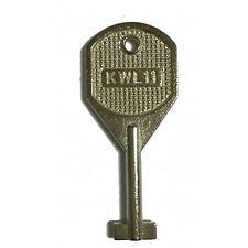 """Confezione da 5 Chiave di ricambio per WMS UPVC Window handle (kwl11) """"T-TYPE"""" UPVC compralo subito"""