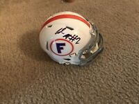 Lamical Perine Autographed Florida Gators Football Mini Helmet Coa Signed