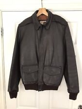 Aviation Leathercraft (Irvin) A2 USAAF Leather Flying Jacket Size 36R