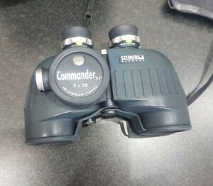 Steiner Commander XP 7x50c Marine Binoculars with HD Stabilised Compass