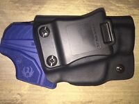 IWB Holster for Ruger LCPII Kydex Holster Black Right Handed - 15 Deg Cant