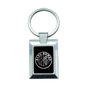 porte cles clef keyring metal luxe sport logo voiture moto Alfa Romeo -108