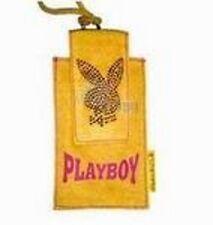 PLAYBOY Handytasche Lanyard gelb paßt für iPhone 15x8cm