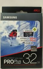 Samsung Pro Plus 32GB  Micro SD SDHC SDXC 95MB/s Class 10 4K UHD Card