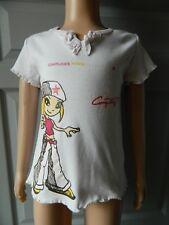 """T shirt manches courtes fille T 6  ans """"Complices"""""""