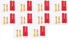 10X 4.0mm 4mm Banana Gold Bullet Connector Protector/Cover RC Battery ESC PLUG