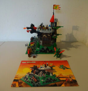 (Go) LEGO 6082 Fire Breathing Fortress Knight Castle With Ba Used 100% Complete