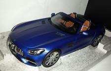Norev 1:18 Mercedes-Benz AMG GT C Roadster designo brilliant blue magno nieuw