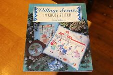 Village Scenes in Cross Stitch Sewing Embroidery Needle Craft Susie Johns Book
